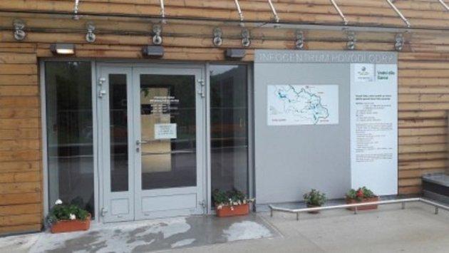 Nové informační centrum upřehrady Šance.