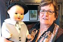 Ve své sbírce má Pavla Dobíšková také panenku  – chlapečka.