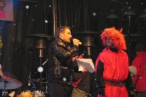 Mikulášská show na náměstí Svobody ve Frýdku-Místku