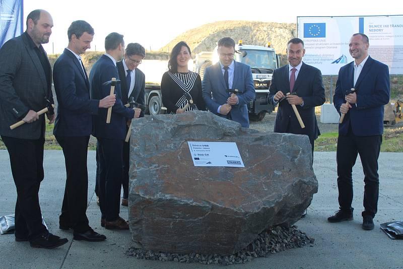 Slavnostní zahájení stavby poslední části obchvatu Třince.
