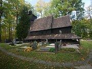 Dřevěný kostel v Třinci-Gutech.