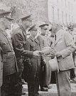 Edvard Beneš při návštěvě v Místku v roce 1946 poděkoval členům posádky.