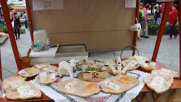 Farmářské trhy opět zavítaly na náměstí Svobody v Místku.