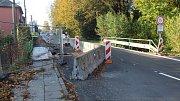 Most v Bašce čeká demolice.