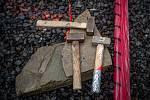 V Třinci-Gutech byla zahájena stavba repliky dřevěného kostela Božího Těla, který shořel po žhářském útoku v roce 2017.