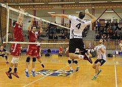Semifinále první ligy mezi Frýdkem-Místkem a Turnovem.