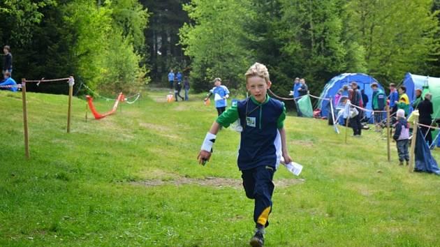 Talentovaný Jan Bjolek je v průběžném žebříčku své věkové kategorie na prvním místě.