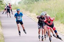 Třetího ročníku extrémního in-line závodu Adidas 24 hodin kolem Olešné se zúčastní více než šest stovek závodníků.
