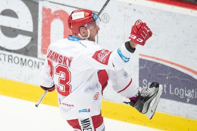 Martin Adamský načal Vítkovice úspěšnou dorážkou.