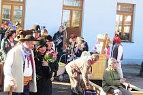 Masopustní veselí ovládlo v sobotu odpoledne bašskou část Hodoňovice.