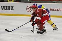 Hokejisté Frýdku-Místku uzavřeli první polovinu základní části domácím vítězstvím nad Břeclaví 7:2.