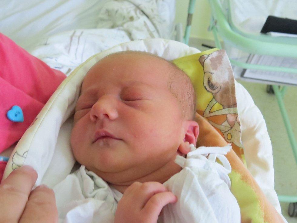 Natálie Fijalová, Sedliště, nar. 16. 4., 52 cm, 3,7 kg. Nemocnice ve Frýdku-Místku.