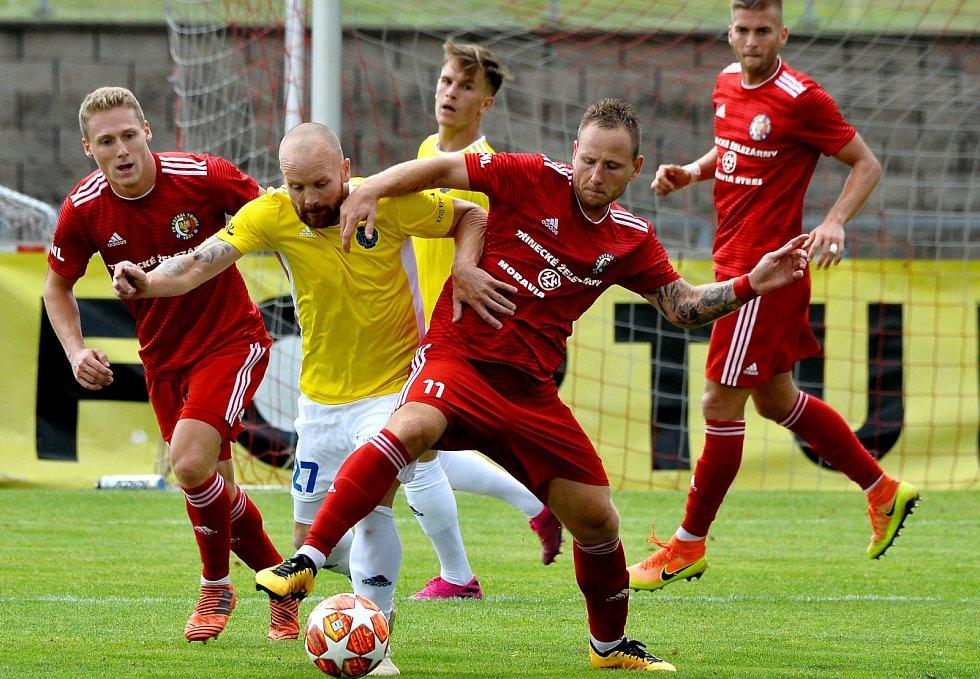 Fotbalisté Třince vezou z Vyšehradu tři body.