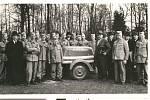 Hasiči v roce 1940  - čerpadlo Mařenka.