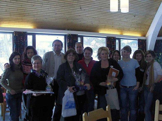 Společný snímek účastníků Expedice Narvik.