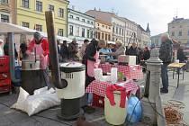 Beskydské farmářské trhy v Místku.