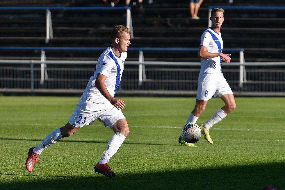 fotbal MSFL, Frýdek-Místek – Kroměříž , 9. září 2020 ve Frýdku-Místku.