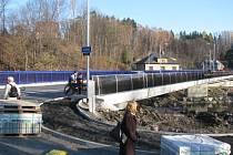Nový Harcovský most ve Frýdlantu nad Ostravicí byl oficiálně uveden do provozu v pátek 16. listopadu.