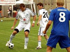 V Janovicích se v exhibičním utkání představil Kubina Team.