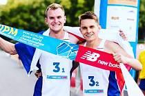 Těšínskou osmičku si zaběhne i juniorský mistr světa v moderním pětiboji Marek Grycz (vlevo).
