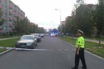 Místo tragické nehody v třinecké Dukelské ulici.