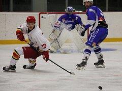 Hokejisté druholigového Frýdku-Místku zdolali v přípravě na domácím ledě účastníka polské nejvyšší soutěže z Oświęcimi 5:3.