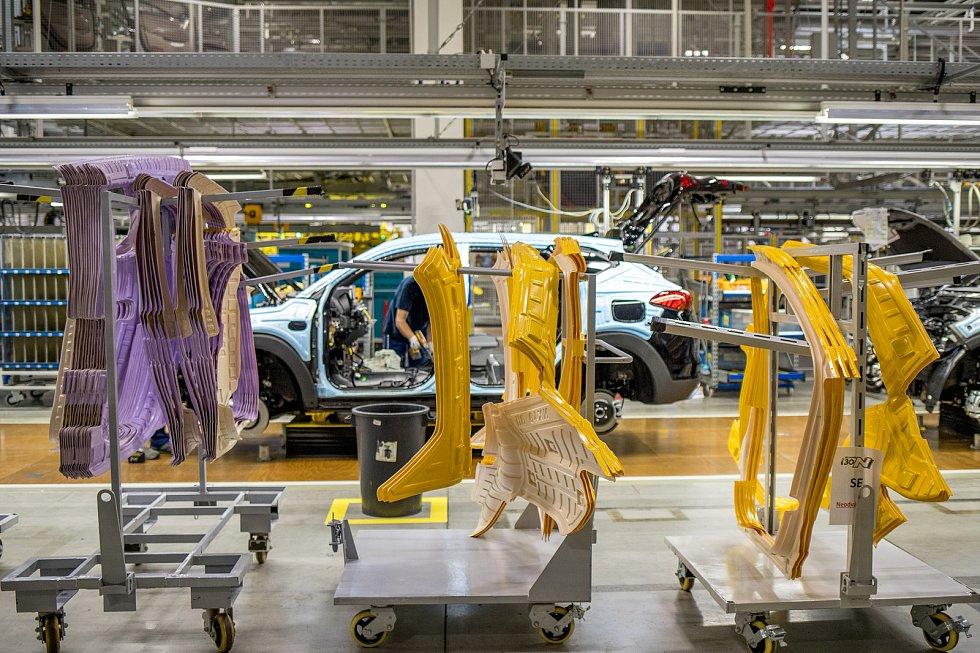 Automobilka Hyundai v Nošovicích představila kompletní řadu nového modelu Hyundai i30, 23. června 2020 v Nošovicích.