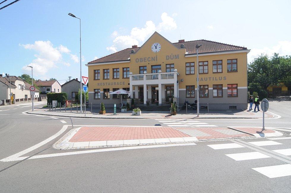 Restaurace Nautilus v Krmelíně.