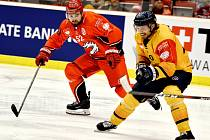 Třinečtí Oceláři uspěli na ledě Djurgårdenu a mají první body do tabulky.
