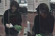 Maskovaný mladík nechal v bance tašku a dopis.