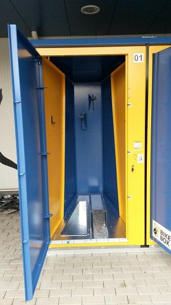 Montáž bikeboxu vBohumíně.