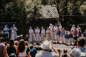 Folklorní soubor Ondrášek z Frýdku-Místku.
