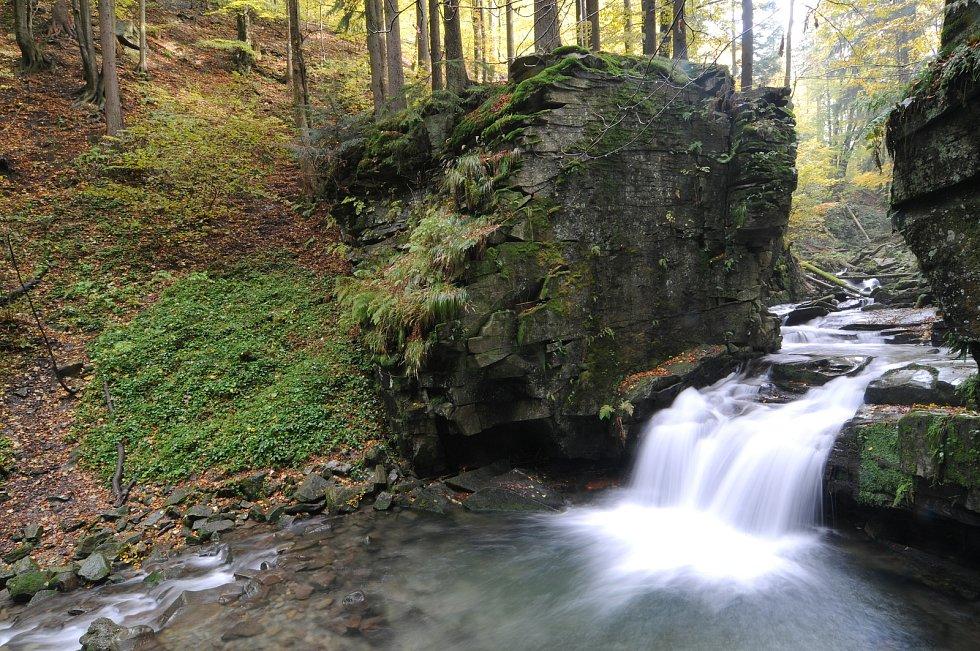 Satinské vodopády.