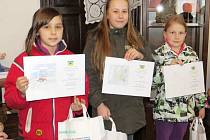 Z výhry se radovaly tři dívenky ze základní školy v Sedlištích.