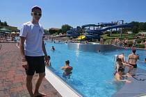 Aquapark Olešná ve Frýdku-Místku už v minulých letech zažil daleko vydařenější sezony. Návštěvnost ve druhé polovině prázdnin byla horší.