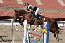 Vítěz kategorie šestiletých koní Jan Zwinger s Casperem 3 z JK Mustang Lučina