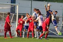 Fotbalisté Frýdku-Místku si v přípravném utkání poradili se Sedlišti 7:0.