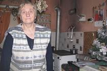 Opuštěné domy v třinecké lokalitě Folvark určené k demolici. Poslední nájemnice - dvaašedesátiletá Marie Hulbojová.