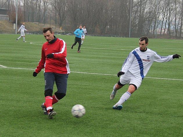 Frýdecko-místeckým fotbalistům se před startem jarní části MSFL daří. Naposledy zdolali doma divizní Nový Jičín 6:0.