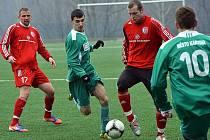 Fotbalisté Třince si v přípravě poradili s divizním béčkem Karviné 2:0.
