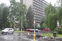 Areál Hotelového domu Paskov.