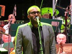 Petr Korč při slavnostním zahajování festivalu Sweetsen.