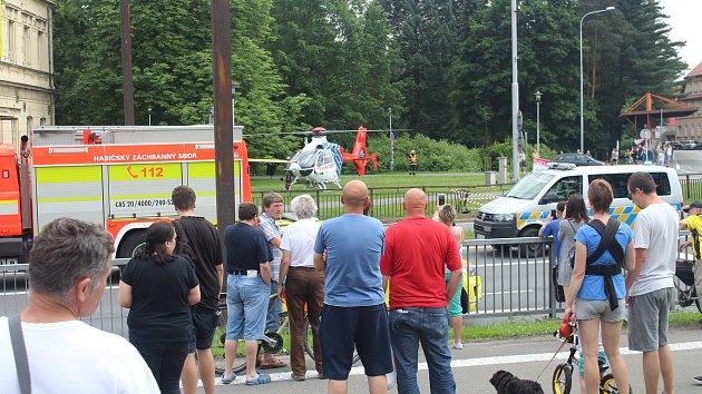 Vážná nehoda na průtahu I/48 ve Frýdku-Místku