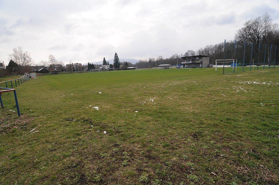 Fotbalové hřiště Sparta v Dobré.