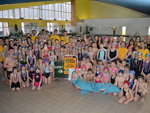 Místecký bazén u bývalého hornického učiliště hostil plavecké naděje, když se zde konal již 7. ročník závodů O pohár primátora města Frýdek-Místek.