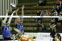 Čtvrtfinálová série mezi volejbalistkami Olomouce a Frýdku-Místku je u konce.