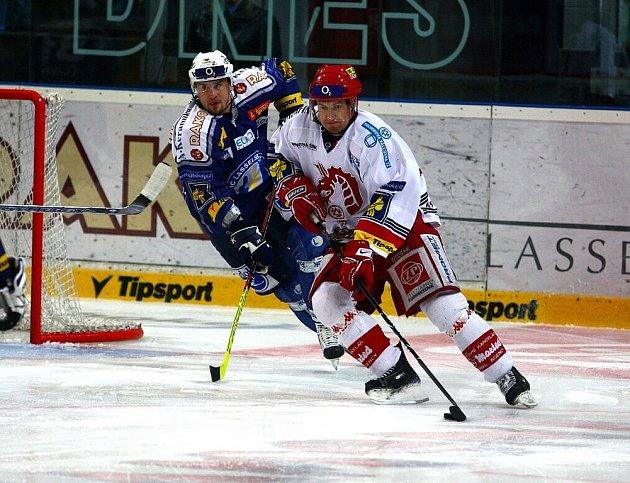 Hokejisté Třince prohráli úvodní zápas předkola play off na ledě Plzně. Zlomový byl gól domácích na 3:1, který zaznamenali v oslabení.