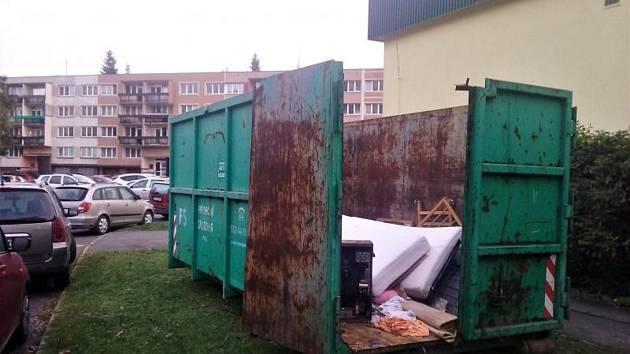 Velkoobjemové kontejnery budou přistaveny ve Frýdku-Místku.