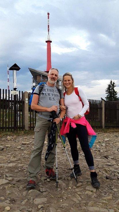 Pedagožka Monika Prokopová s přítelem
