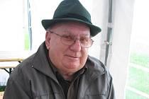 Václav Šindler nemohl minulou sobotu chybět při otevírání naučné stezky v oboře Sovinec ve Fryčovicích.
